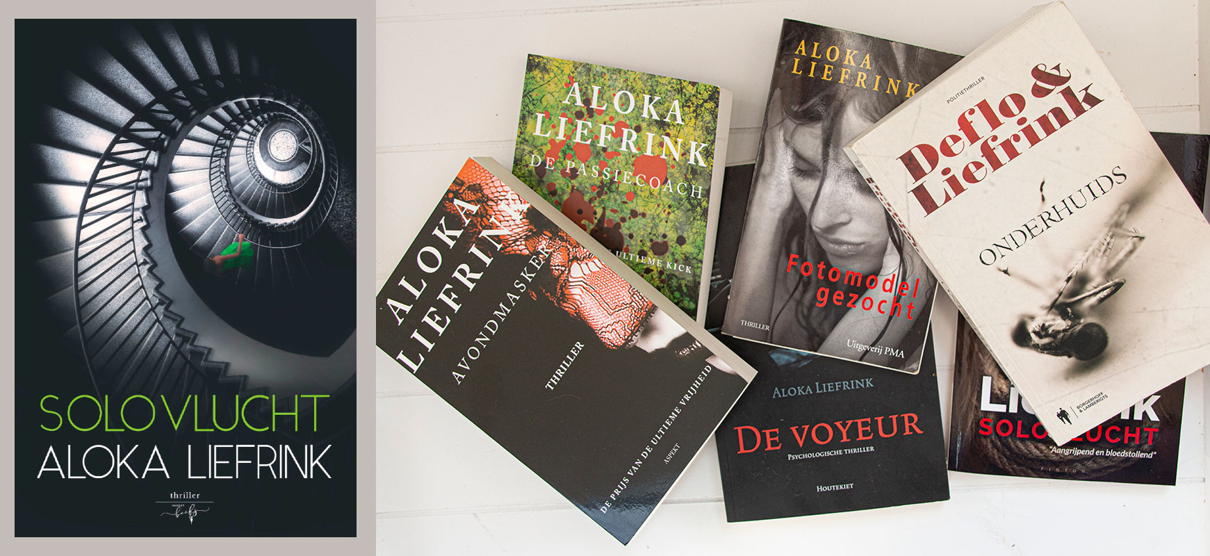 Aloka Liefrink boeken - Solovlucht