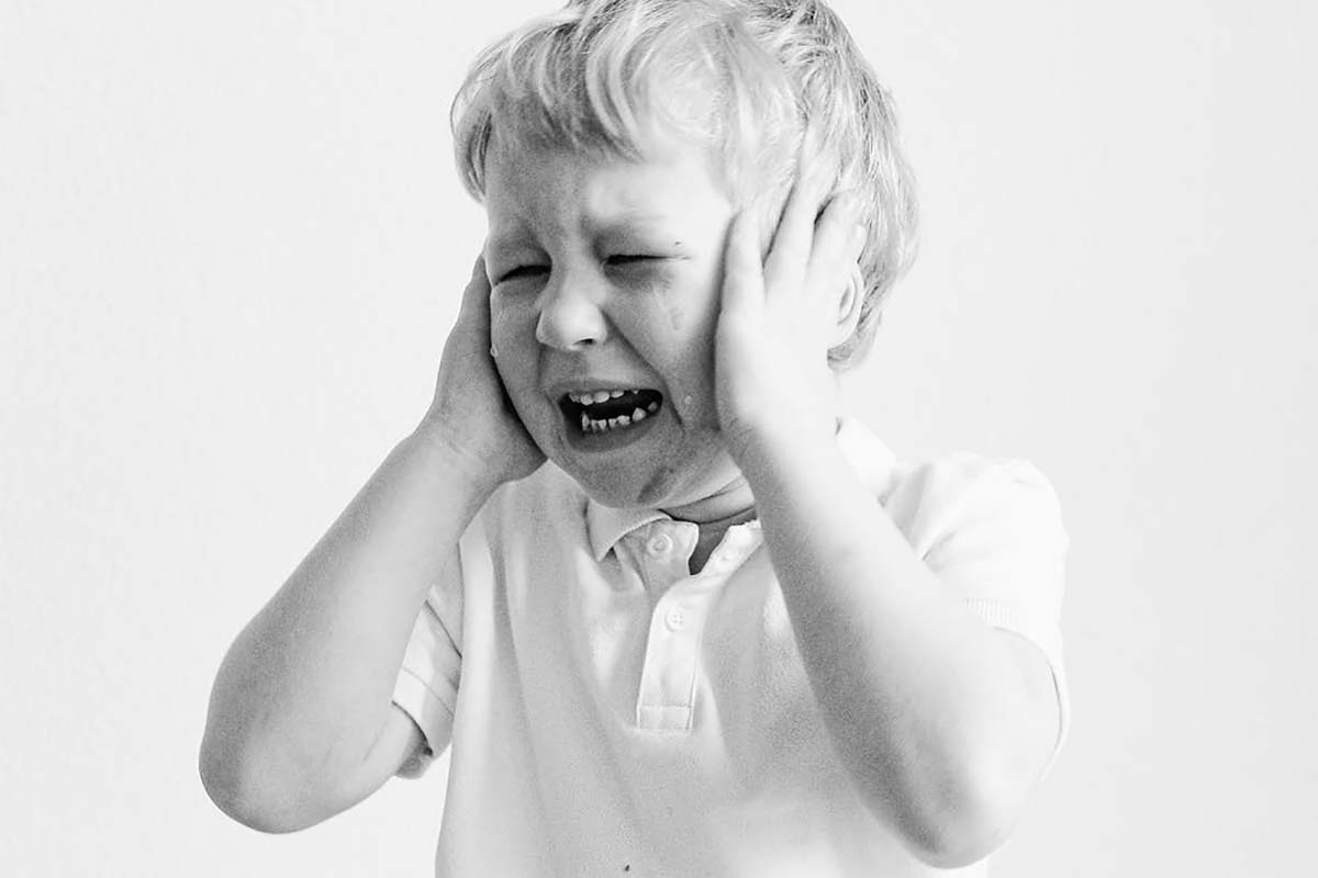 Tranen Van Een Kind Tijdens Een Vechtscheiding